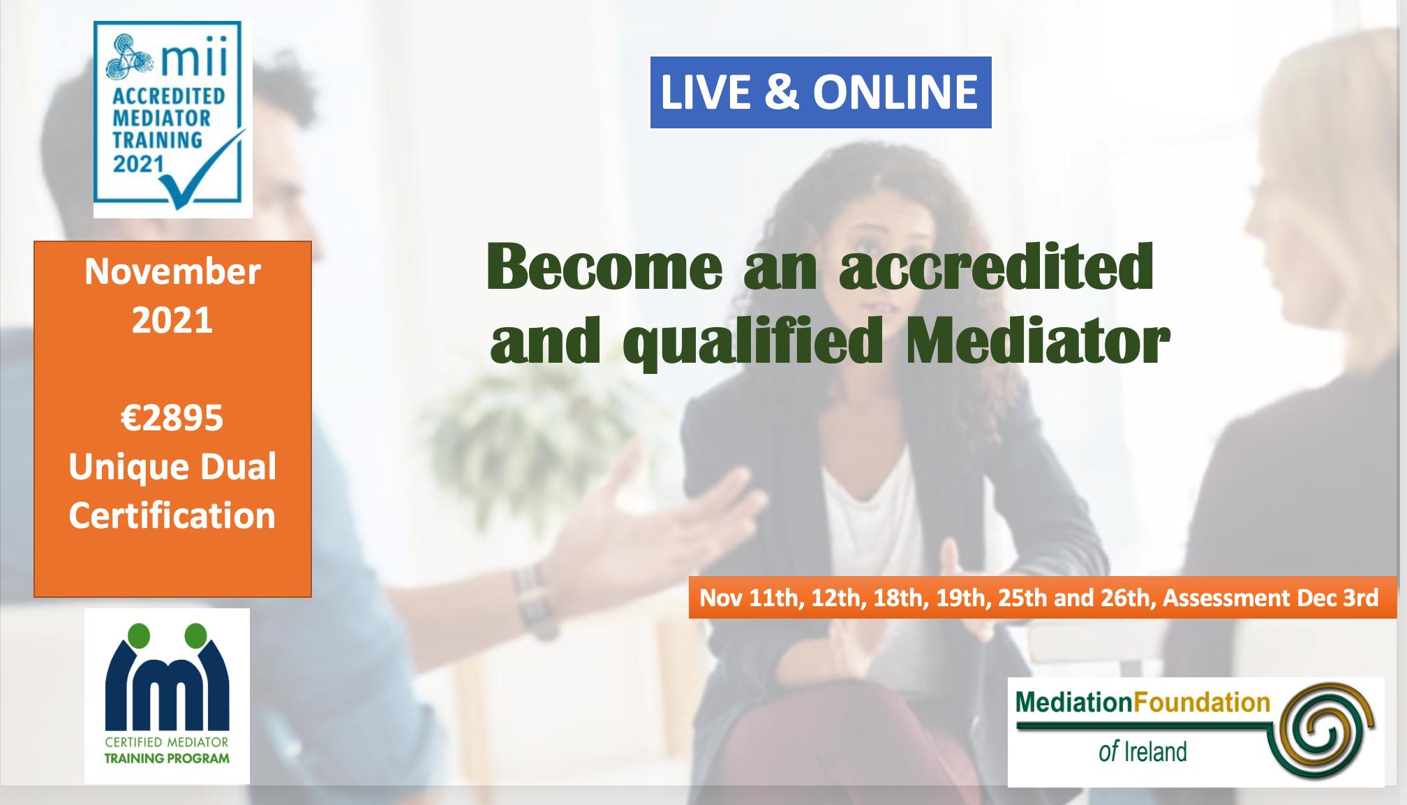 Mediation Training Ireland