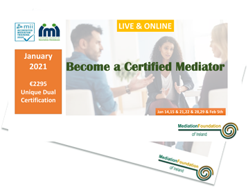 Mediation Training Ireland