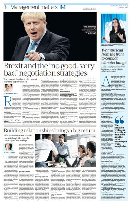 Sunday Business Post - William Corless